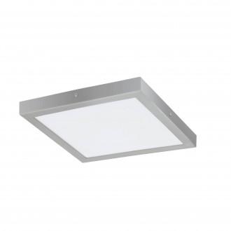 EGLO 97269 | Fueva-1 Eglo mennyezeti LED panel négyzet 1x LED 2500lm 4000K ezüst, fehér