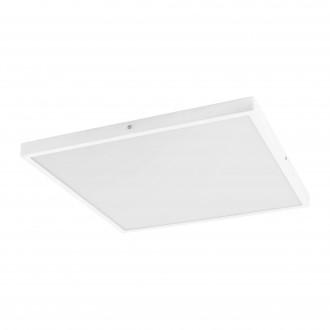 EGLO 97273 | Fueva-1 Eglo mennyezeti LED panel négyzet szabályozható fényerő 1x LED 2700lm 3000K fehér