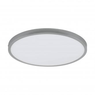 EGLO 97276 | Fueva-1 Eglo mennyezeti LED panel kerek szabályozható fényerő 1x LED 2900lm 4000K ezüst, fehér