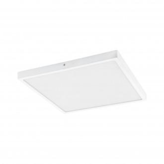 EGLO 97282 | Fueva-1 Eglo mennyezeti LED panel négyzet szabályozható fényerő 1x LED 3200lm 3000K fehér