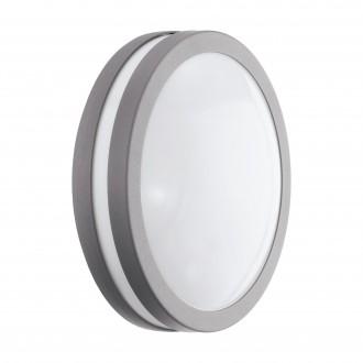 EGLO 97299 | EGLO-Connect-Locana Eglo fali, mennyezeti okos világítás kerek szabályozható fényerő 1x LED 1400lm 3000K IP44 ezüst, fehér
