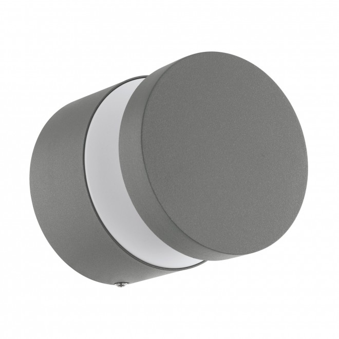 EGLO 97301 | Melzo Eglo fali, mennyezeti lámpa 1x LED 950lm 3000K IP44 ezüst, áttetsző, fehér