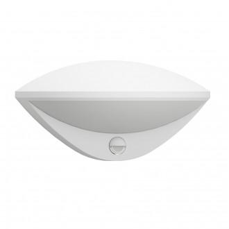 EGLO 97311 | Belcreda Eglo fali lámpa mozgásérzékelő, fényérzékelő szenzor - alkonykapcsoló 1x LED 1200lm 3000K IP44 fehér