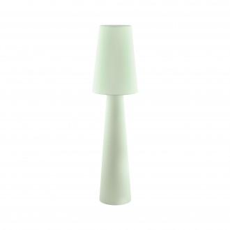 EGLO 97433 | Carpara Eglo álló lámpa 143cm taposókapcsoló 2x E27 pasztell világoszöld