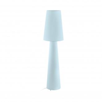 EGLO 97434 | Carpara Eglo álló lámpa 143cm taposókapcsoló 2x E27 pasztell világoskék