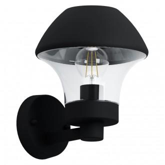 EGLO 97446 | EGLO-Connect-Verlucca Eglo fali okos világítás 1x E27 806lm 3000K IP44 fekete, áttetsző