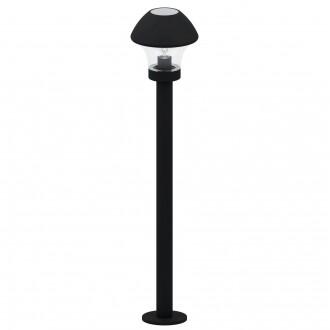 EGLO 97447 | EGLO-Connect-Verlucca Eglo álló okos világítás 99cm 1x E27 806lm 3000K IP44 fekete, áttetsző