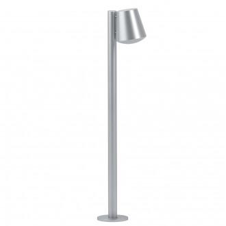 EGLO 97454   Caldiero Eglo álló lámpa 96,5cm 1x E27 IP44 nemesacél, rozsdamentes acél, fehér