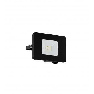 EGLO 97455 | Faedo Eglo fényvető lámpa négyzet elforgatható alkatrészek 1x LED 900lm 4000K IP65 fekete, áttetsző