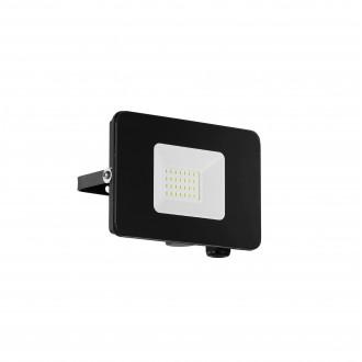 EGLO 97456 | Faedo Eglo fényvető lámpa négyzet elforgatható alkatrészek 1x LED 1800lm 4000K IP65 fekete, áttetsző