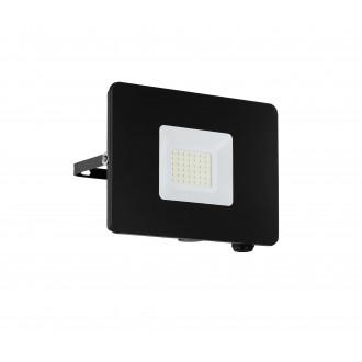 EGLO 97457 | Faedo Eglo fényvető lámpa négyzet elforgatható alkatrészek 1x LED 2750lm 4000K IP65 fekete, áttetsző