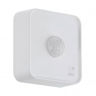 EGLO 97475 | Eglo mozgásérzékelő PIR 120° okos világítás négyzet elemes/akkus IP44 fehér