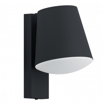 EGLO 97482 | EGLO-Connect-Caldiero Eglo fali okos világítás 1x E27 806lm 3000K IP44 fehér, antracit