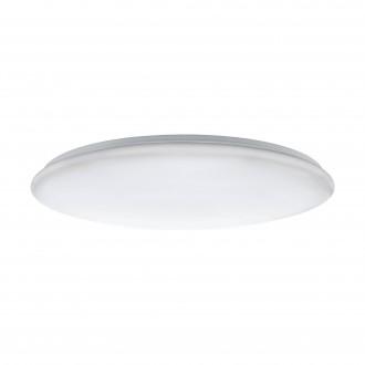EGLO 97528 | Giron-LED Eglo mennyezeti lámpa kerek távirányító szabályozható fényerő, állítható színhőmérséklet 1x LED 7800lm 3000 <-> 5000K fehér
