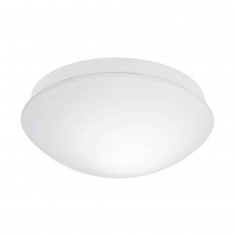 EGLO 97531 | Bari-M Eglo fali, mennyezeti lámpa mozgásérzékelő 1x E27 IP44 fehér, opál