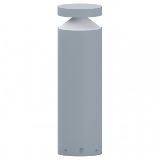 EGLO 97631 | Melzo Eglo álló lámpa 45cm 1x LED 950lm 3000K IP44 ezüst, áttetsző, fehér