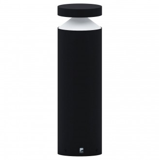 EGLO 97632 | Melzo Eglo álló lámpa 45cm 1x LED 950lm 3000K IP44 fekete, áttetsző