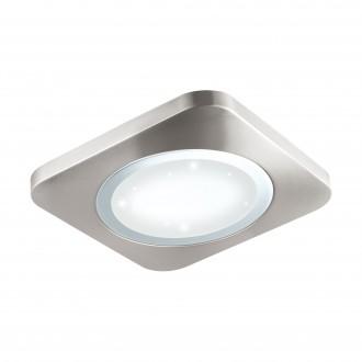 EGLO 97663 | Puyo-S Eglo fali, mennyezeti lámpa 1x LED 2500lm 3000K matt nikkel, fehér, kristály hatás