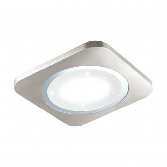 EGLO 97664 | Puyo-S Eglo fali, mennyezeti lámpa 1x LED 3400lm 3000K matt nikkel, fehér, kristály hatás