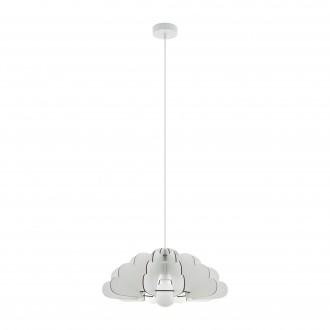 EGLO 97701 | Chieti Eglo függeszték lámpa 1x E27 fehér