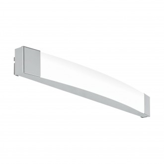 EGLO 97719 | Siderno Eglo tükörmegvilágító lámpa 1x LED 1700lm 4000K IP44 króm, szatén