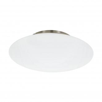 EGLO 97811 | EGLO-Connect-Frattina Eglo mennyezeti okos világítás szabályozható fényerő, állítható színhőmérséklet, színváltós 1x LED 3400lm 2700 <-> 6500K matt nikkel, fehér