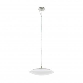EGLO 97812 | EGLO-Connect-Frattina Eglo függeszték okos világítás szabályozható fényerő, állítható színhőmérséklet, színváltós 1x LED 3400lm 2700 <-> 6500K matt nikkel, fehér