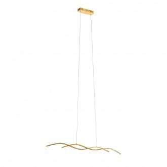 EGLO 97837   Miraflores Eglo függeszték lámpa 2x LED 3400lm 3000K arany, fehér