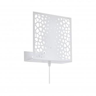 EGLO 97889 | Gallico Eglo falikar lámpa vezeték kapcsoló 1x E27 fehér