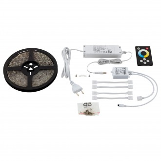 EGLO 97924 | Led-Stripes-Flex Eglo LED szalag lámpa távirányító dugaljjal ellátott 1x LED 1000lm 2700<->6500K átlátszó