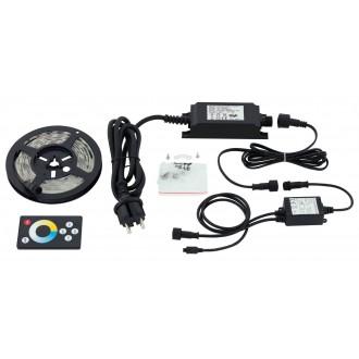 EGLO 97925 | Led-Stripes-Flex Eglo LED szalag lámpa távirányító dugaljjal ellátott 1x LED 600lm 2700<->6500K IP44 átlátszó