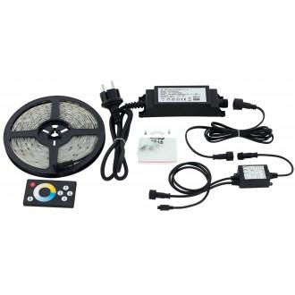 EGLO 97926 | Led-Stripes-Flex Eglo LED szalag lámpa távirányító dugaljjal ellátott 1x LED 1000lm 2700<->6500K IP44 átlátszó