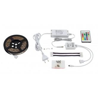 EGLO 97927 | Led-Stripes-Flex Eglo LED szalag lámpa dugaljjal ellátott 1x LED 600lm RGBK átlátszó