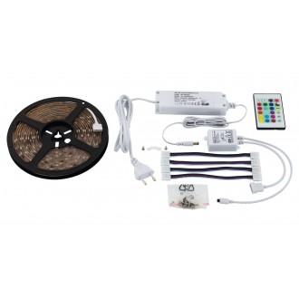 EGLO 97928 | Led-Stripes-Flex Eglo LED szalag lámpa dugaljjal ellátott 1x LED 1000lm RGBK átlátszó