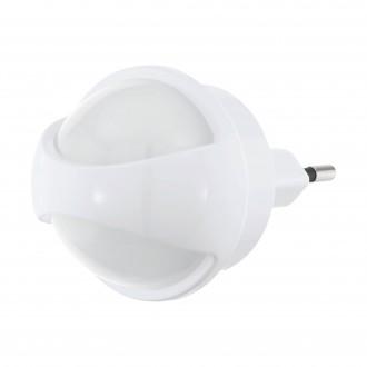 EGLO 97933 | Tineo Eglo irányfény lámpa mozgásérzékelő konnektorlámpa 1x LED 3lm 3000K fehér