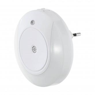 EGLO 97934 | Tineo Eglo irányfény lámpa mozgásérzékelő konnektorlámpa 2x LED 8lm 3000K fehér