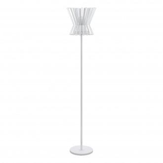 EGLO 97953 | Locubin Eglo álló lámpa 153,5cm taposókapcsoló 1x E27 fehér