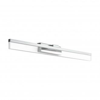 EGLO 97966 | Palmital Eglo falikar lámpa 1x LED 1300lm 3000K IP44 króm, áttetsző