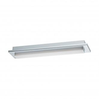 EGLO 97967 | Cumbrecita Eglo fali, mennyezeti lámpa téglatest 1x LED 900lm 4000K IP44 króm, fehér