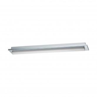 EGLO 97968 | Cumbrecita Eglo fali, mennyezeti lámpa téglatest 1x LED 1700lm 4000K IP44 króm, fehér