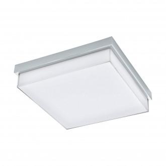EGLO 97971 | Isletas Eglo fali, mennyezeti lámpa négyzet 1x LED 2600lm 4000K IP44 króm, fehér, kristály hatás