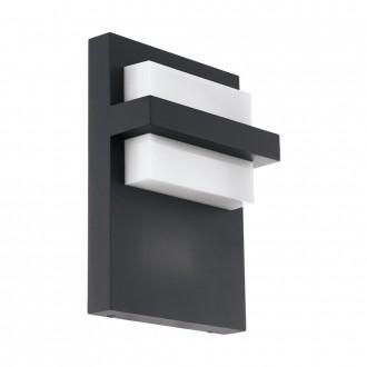 EGLO 98088 | Culpina Eglo fali lámpa 1x LED 830lm 3000K IP44 antracit, fehér