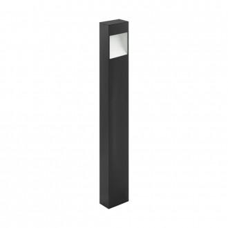 EGLO 98097 | Manfria Eglo álló lámpa 87cm 1x LED 1000lm 3000K IP44 antracit, fehér
