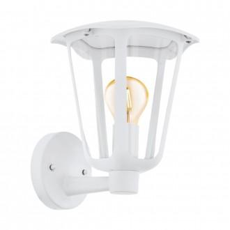 EGLO 98115 | Monreale Eglo fali lámpa 1x E27 IP44 fehér, átlátszó