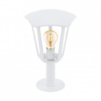 EGLO 98117 | Monreale Eglo álló lámpa 33,5cm 1x E27 IP44 fehér, átlátszó