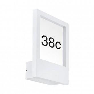 EGLO 98143 | Monteros Eglo fali lámpa 1x E27 IP44 fehér