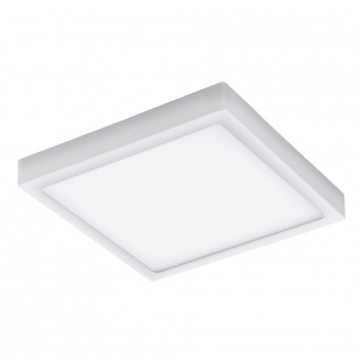 EGLO 98172 | EGLO-Connect-Argolis Eglo fali, mennyezeti okos világítás négyzet szabályozható fényerő, állítható színhőmérséklet 1x LED 2600lm 2700 <-> 6500K IP44 fehér