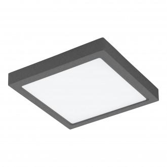 EGLO 98174 | EGLO-Connect-Argolis Eglo fali, mennyezeti okos világítás négyzet szabályozható fényerő, állítható színhőmérséklet 1x LED 2600lm 2700 <-> 6500K IP44 antracit, fehér