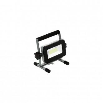 EGLO 98183 | Piera Eglo fényvető lámpa 1x LED 1700lm 6000K IP44 ezüst, fekete, átlátszó