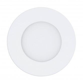 EGLO 98212 | EGLO-Access-Fueva Eglo beépíthető Access LED panel kerek távirányító szabályozható fényerő, állítható színhőmérséklet, időkapcsoló, éjjelifény Ø120mm 1x LED 700lm 2700 <-> 6500K fehér